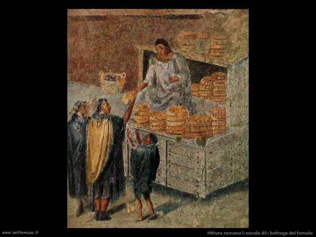 arte impero romano bottega del fornaio