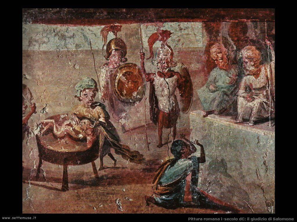 arte impero romano giudizio di salomone