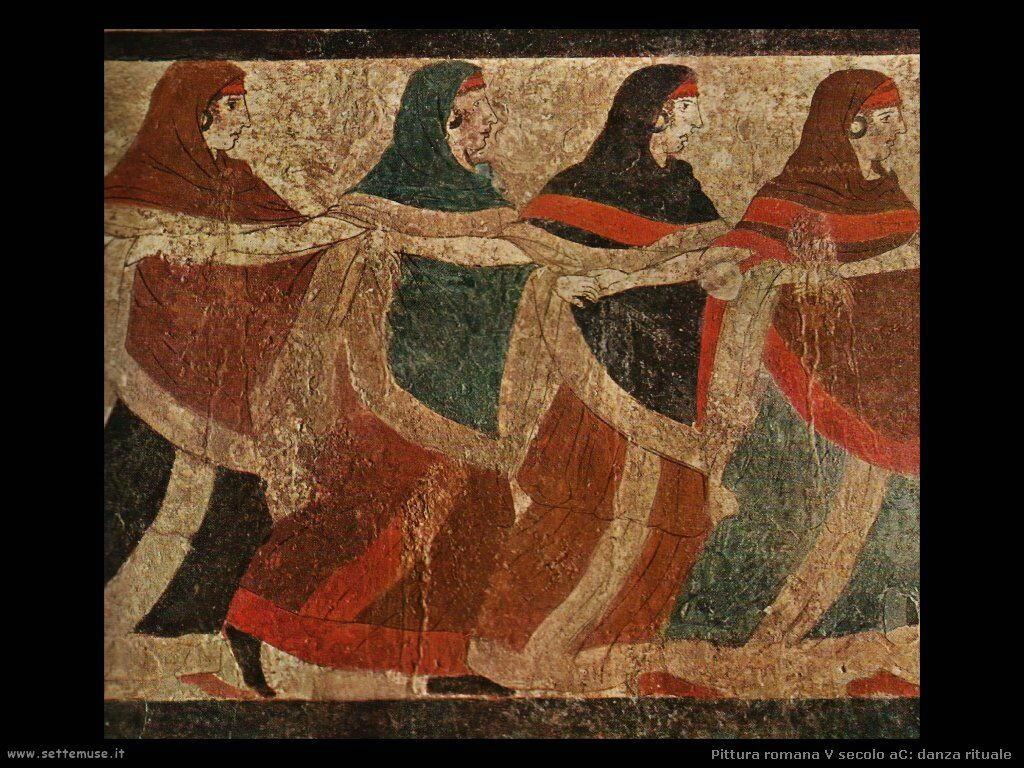 arte impero romano danza rituale