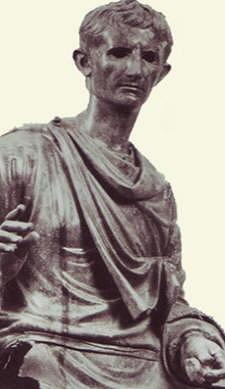 Frammento di statua equestre di Augusto